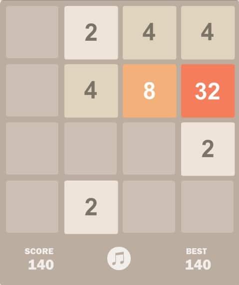 Игра 2048 - играть онлайн бесплатно во весь экран