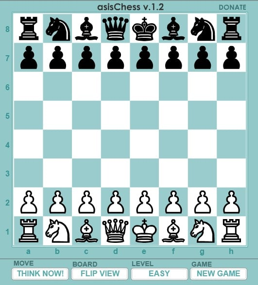 Шахматы онлайн - Играть с компьютером бесплатно на весь экран
