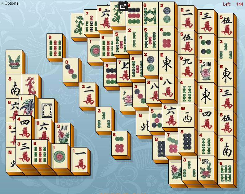 маджонг играть онлайн во весь экран