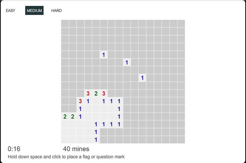 Сапер - Играть онлайн бесплатно во весь экран